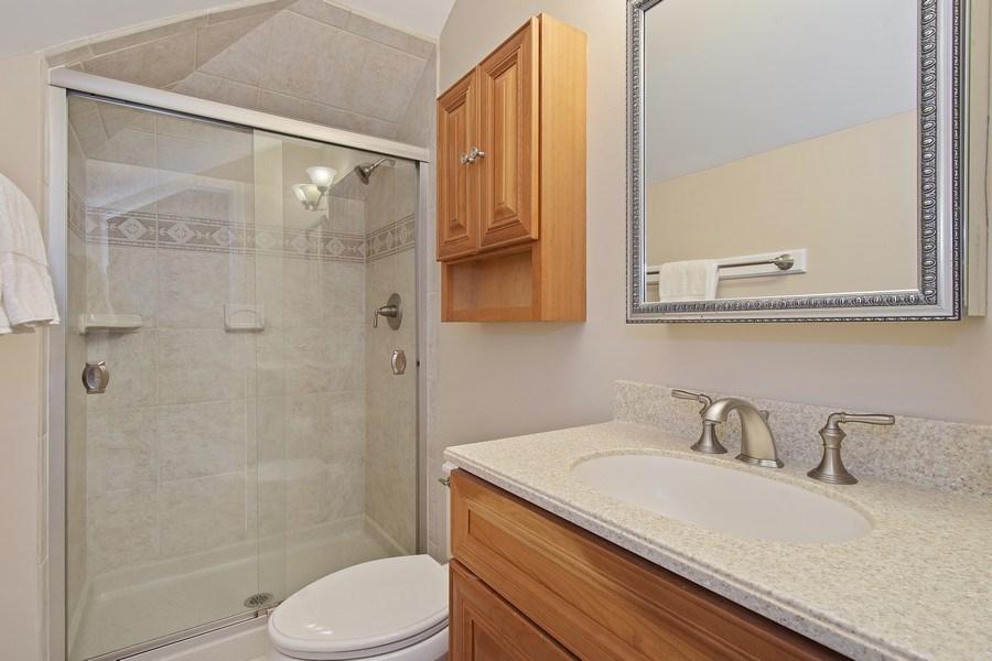 Real Estate Photography - 243 Linden Road, Barrington, IL, 60010 - 2nd Bathroom