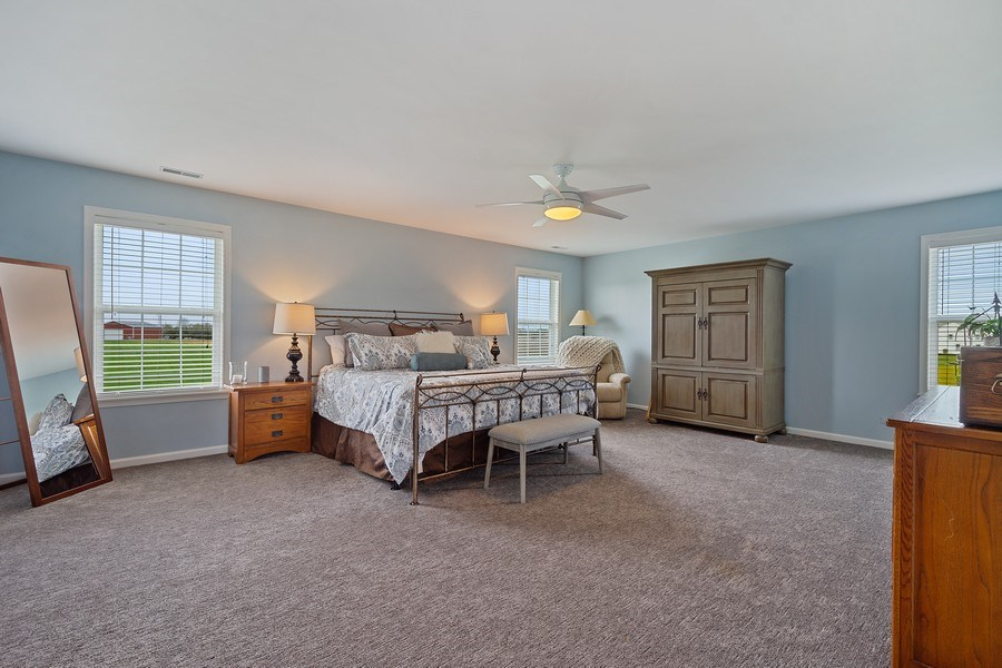 Real Estate Photography - 508 Pond Gate Drive, Barrington Hills, IL, 60010 - Master Bedroom