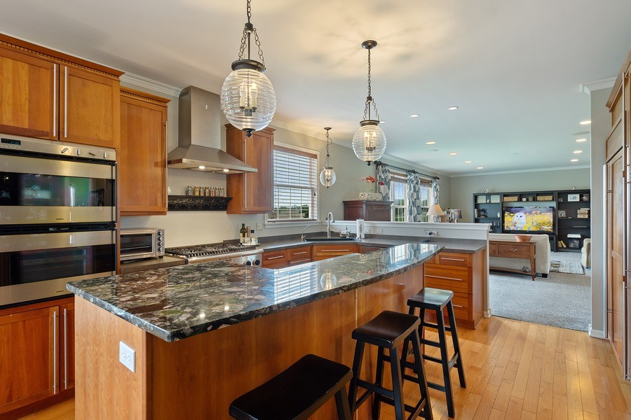 Real Estate Photography - 508 Pond Gate Drive, Barrington Hills, IL, 60010 - Kitchen