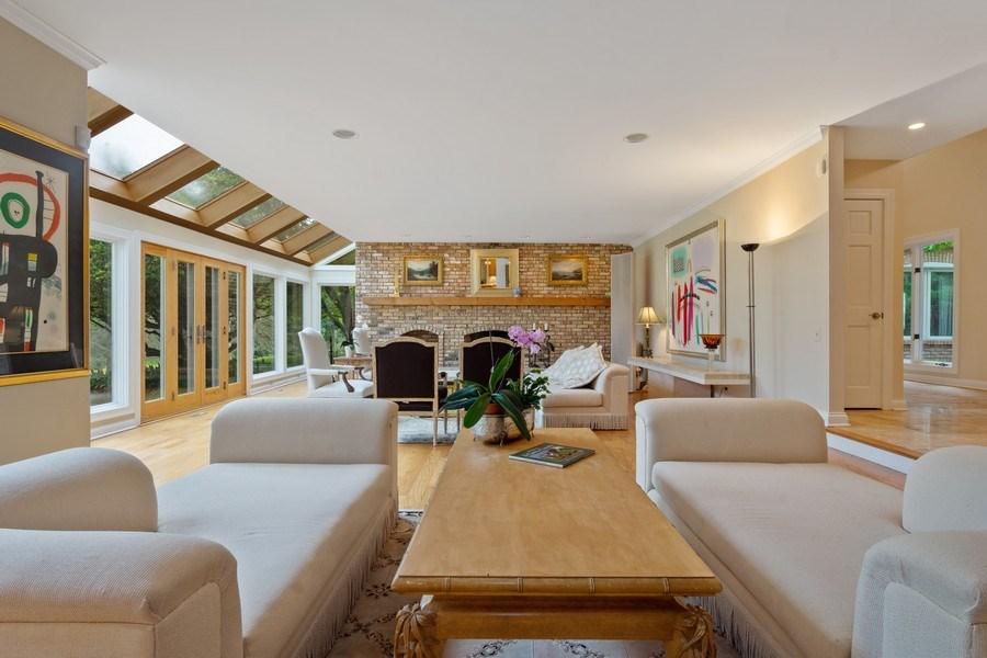 Real Estate Photography - 40 Ridge Rd., Barrington Hills, IL, 60010 - Living Room