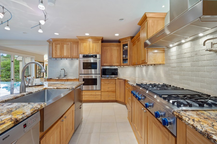Real Estate Photography - 40 Ridge Rd., Barrington Hills, IL, 60010 - Kitchen