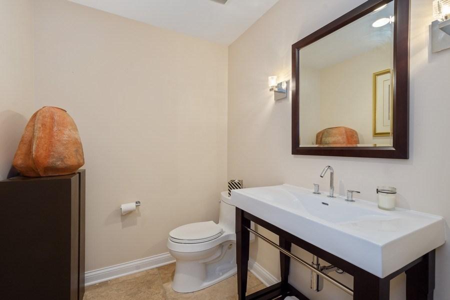 Real Estate Photography - 40 Ridge Rd., Barrington Hills, IL, 60010 - Powder Room