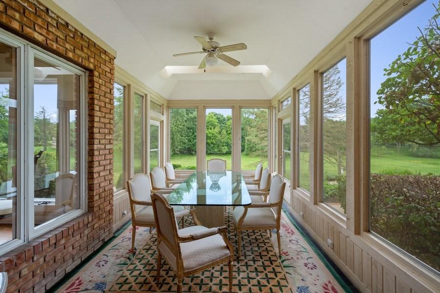 Real Estate Photography - 40 Ridge Rd., Barrington Hills, IL, 60010 - Dining Room