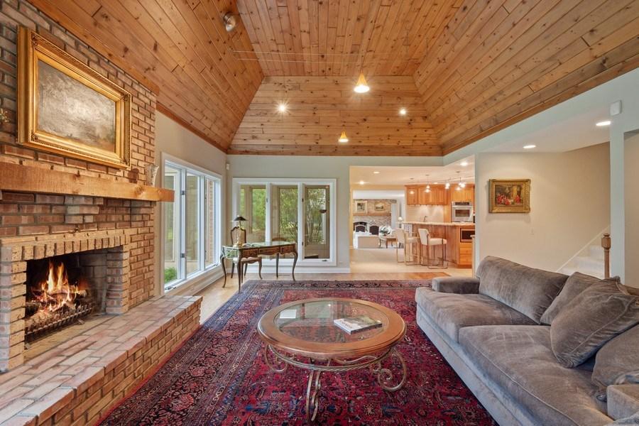 Real Estate Photography - 40 Ridge Rd., Barrington Hills, IL, 60010 - Family Room