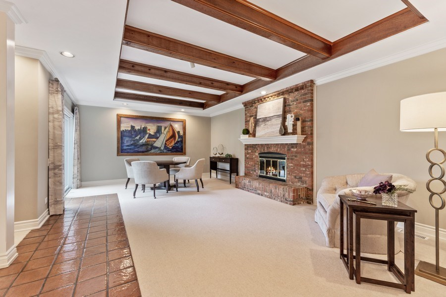 Real Estate Photography - 90 Hawthrone Rd., Barrington Hills, IL, 60010 - REC Room