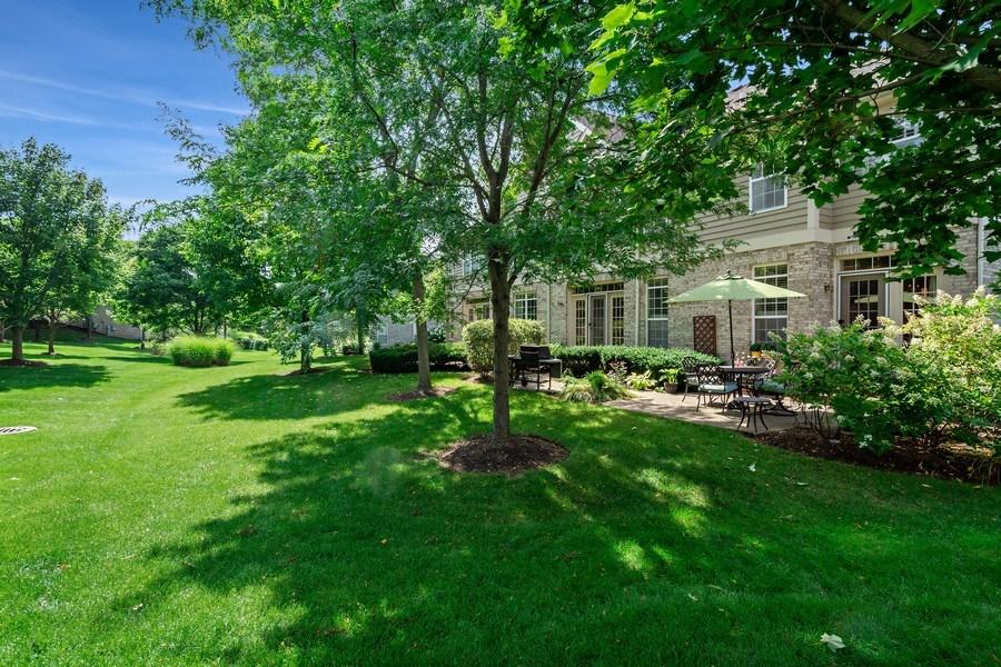 Real Estate Photography - 600 Stone Canyone Circle, Inverness, IL, 60010 - Back Yard