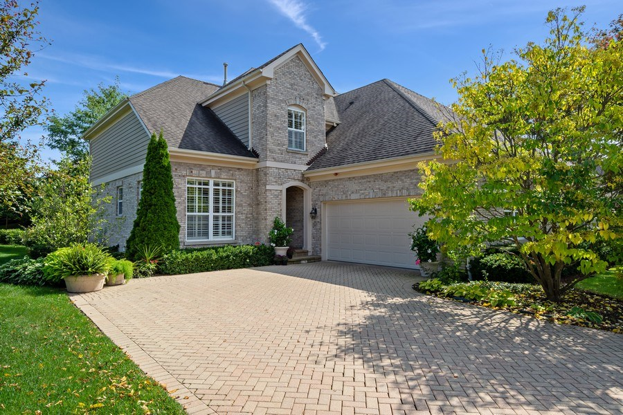 Real Estate Photography - 600 Stone Canyone Circle, Inverness, IL, 60010 - Front View
