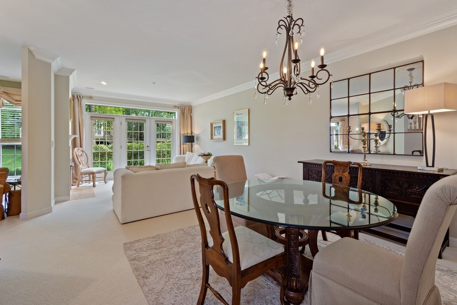 Real Estate Photography - 600 Stone Canyone Circle, Inverness, IL, 60010 - Dining Area