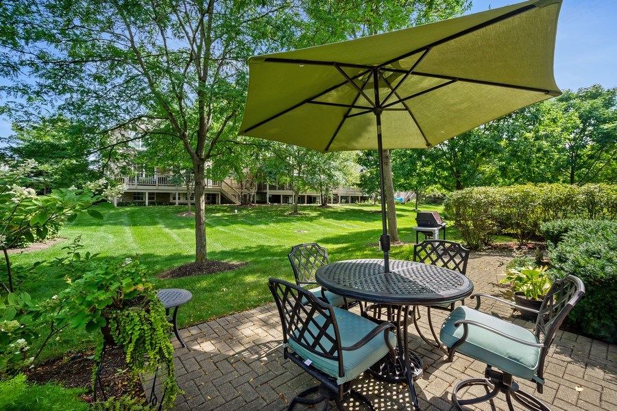 Real Estate Photography - 600 Stone Canyone Circle, Inverness, IL, 60010 - Patio