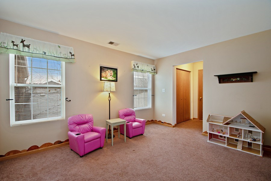 Real Estate Photography - 18526 Dearborn Court, Tinley Park, IL, 60477 - Second Bedroom