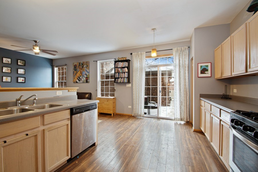 Real Estate Photography - 18526 Dearborn Court, Tinley Park, IL, 60477 - Kitchen