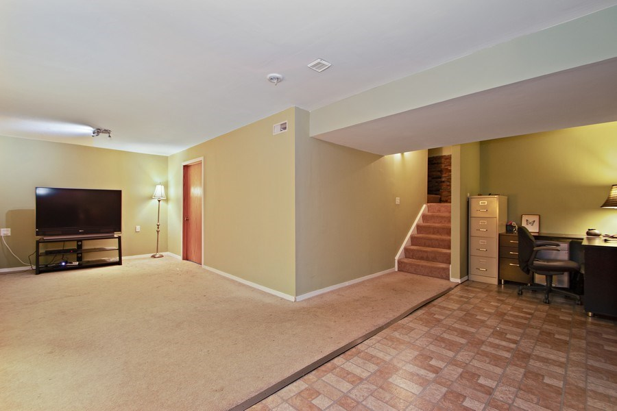 Real Estate Photography - 18526 Dearborn Court, Tinley Park, IL, 60477 - Recreational Room