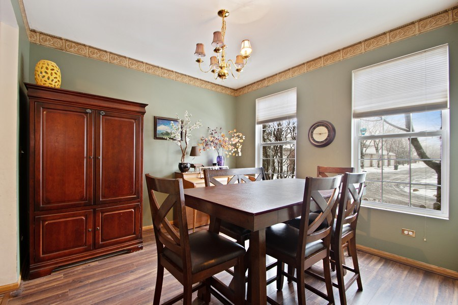 Real Estate Photography - 18526 Dearborn Court, Tinley Park, IL, 60477 - Dining Room