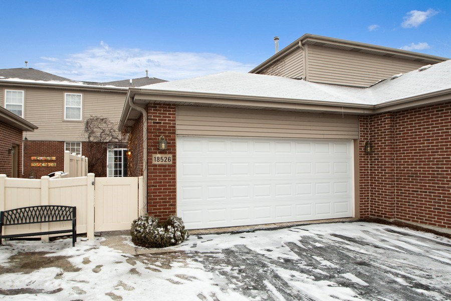 Real Estate Photography - 18526 Dearborn Court, Tinley Park, IL, 60477 - Two Car Garage