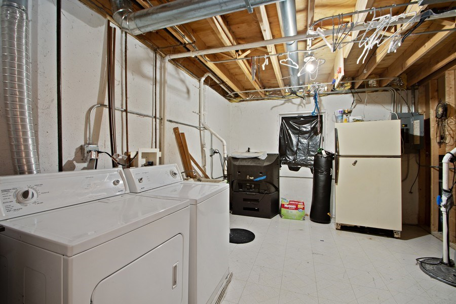 Real Estate Photography - 18526 Dearborn Court, Tinley Park, IL, 60477 - Laundry Room