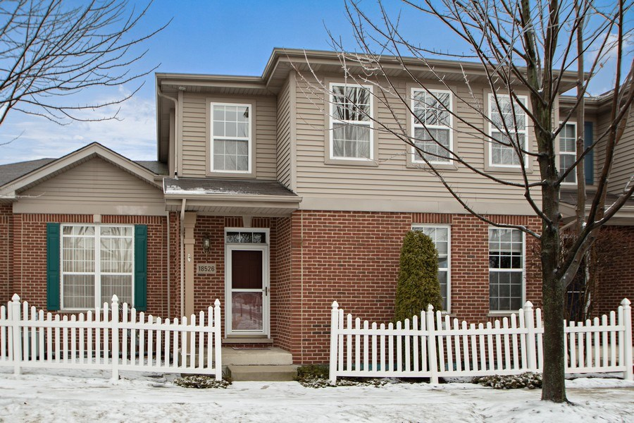 Real Estate Photography - 18526 Dearborn Court, Tinley Park, IL, 60477 - Front View