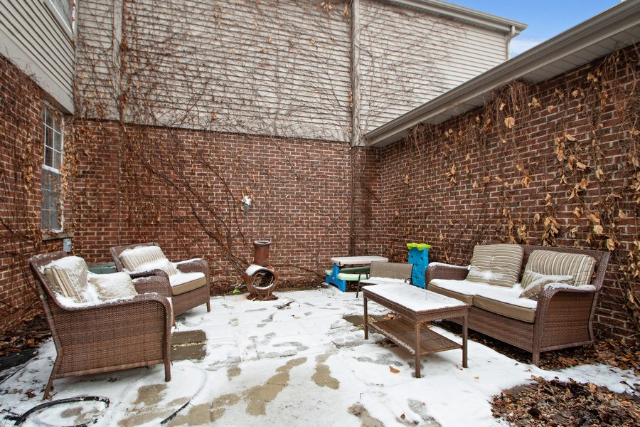 Real Estate Photography - 18526 Dearborn Court, Tinley Park, IL, 60477 - Private Patio
