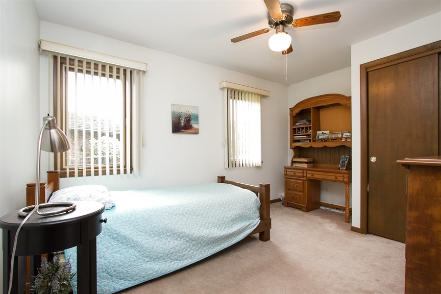 Real Estate Photography - 1160 East 173rd Place, South Holland, IL, 60473 - 4th Bedroom