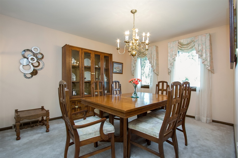 Real Estate Photography - 1160 East 173rd Place, South Holland, IL, 60473 - Dining Room