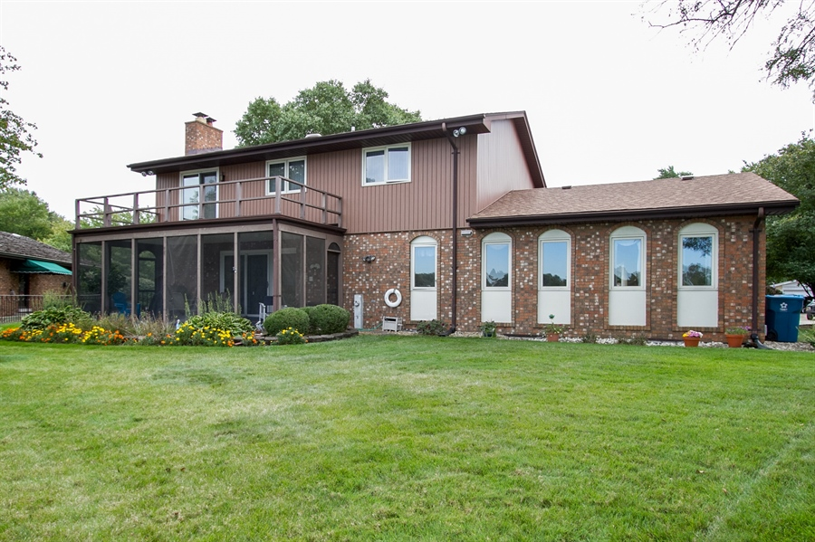 Real Estate Photography - 1160 East 173rd Place, South Holland, IL, 60473 - Rear View