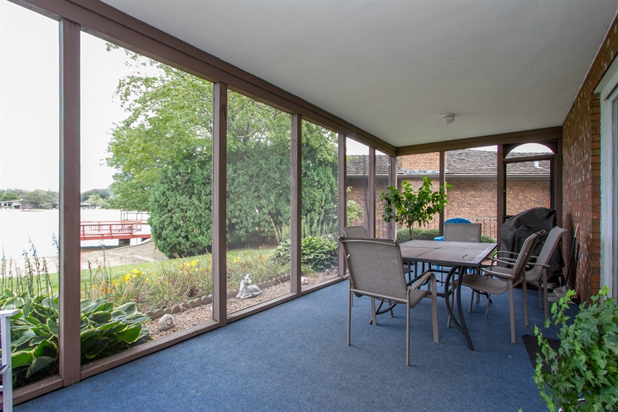 Real Estate Photography - 1160 East 173rd Place, South Holland, IL, 60473 - Sun Room