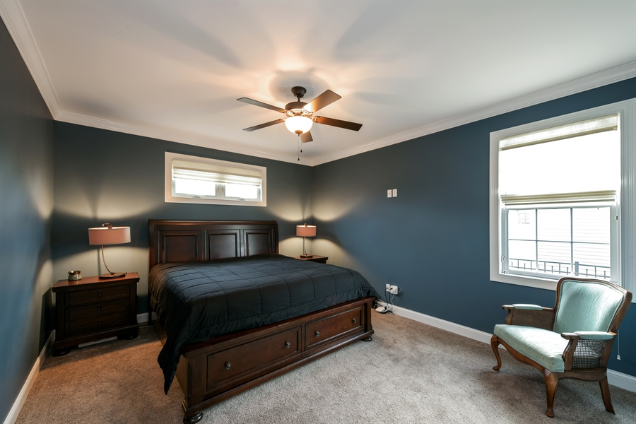 Real Estate Photography - 3455 Badger Court, Valparaiso, IN, 46383 - Master Bedroom