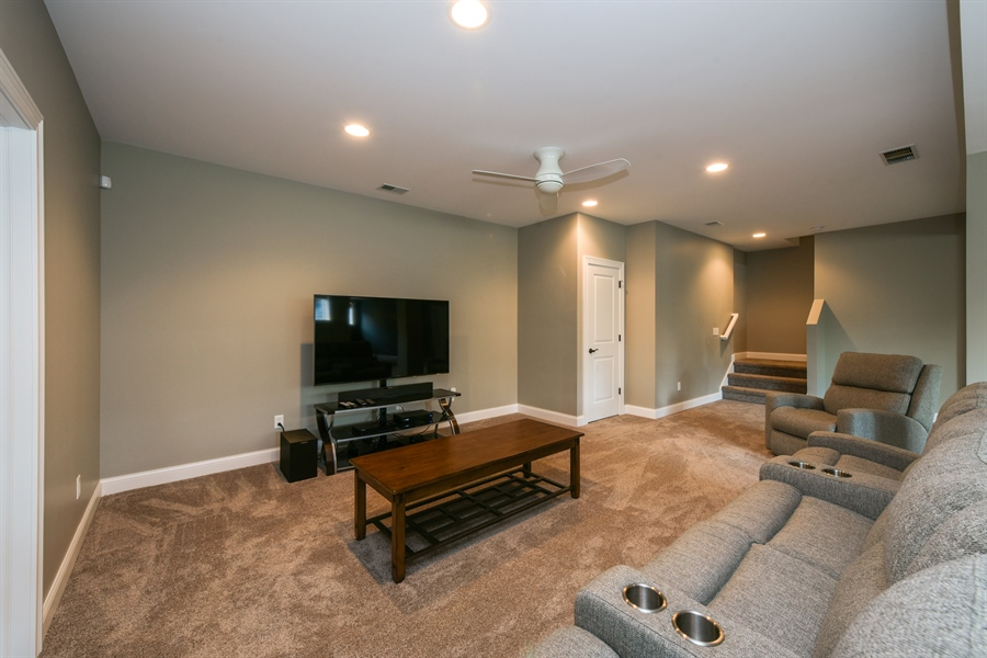 Real Estate Photography - 3455 Badger Court, Valparaiso, IN, 46383 - Family Room