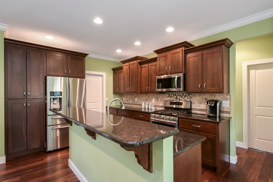 Real Estate Photography - 3455 Badger Court, Valparaiso, IN, 46383 - Kitchen