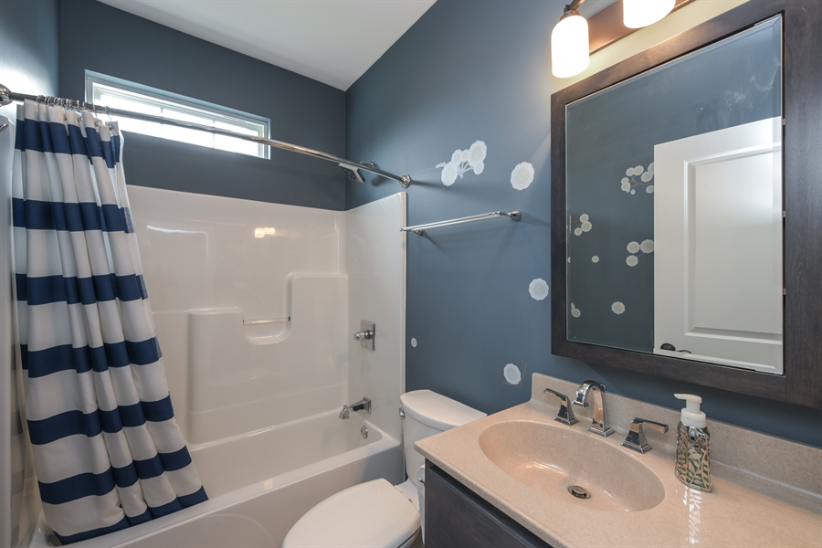 Real Estate Photography - 3455 Badger Court, Valparaiso, IN, 46383 - Bathroom