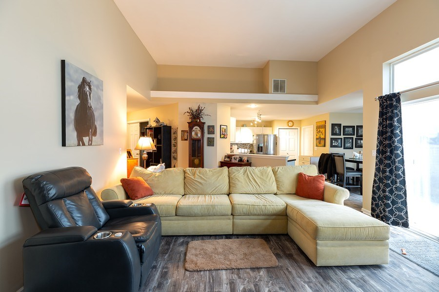 Real Estate Photography - 823 Meadowbrook Drive, Lowell, IN, 46356 - Living Room
