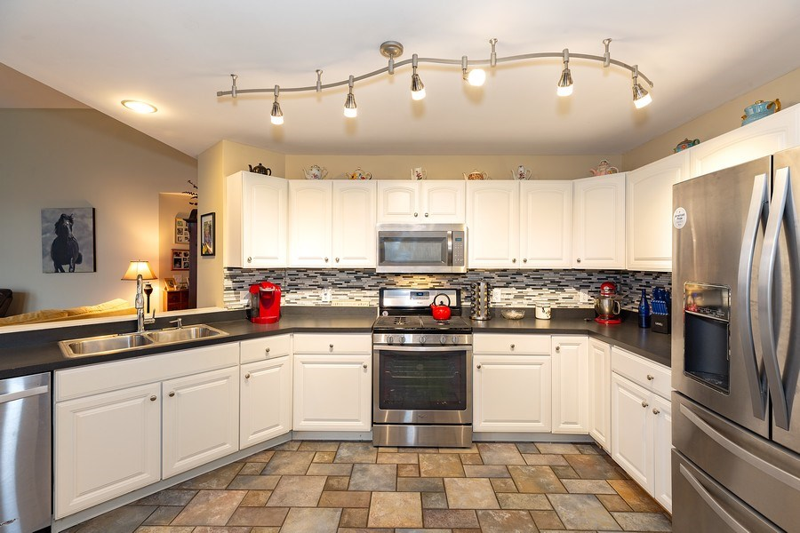 Real Estate Photography - 823 Meadowbrook Drive, Lowell, IN, 46356 - Kitchen
