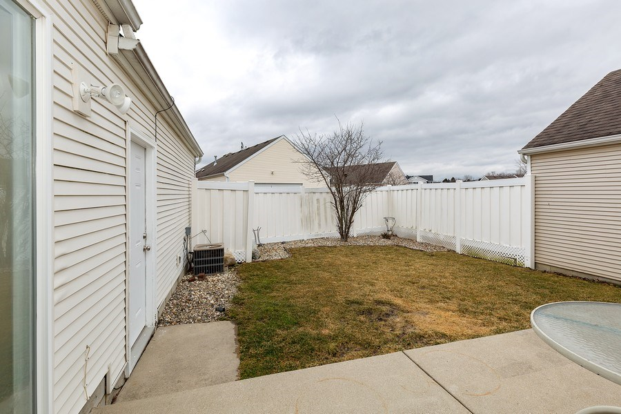 Real Estate Photography - 823 Meadowbrook Drive, Lowell, IN, 46356 - Back Yard