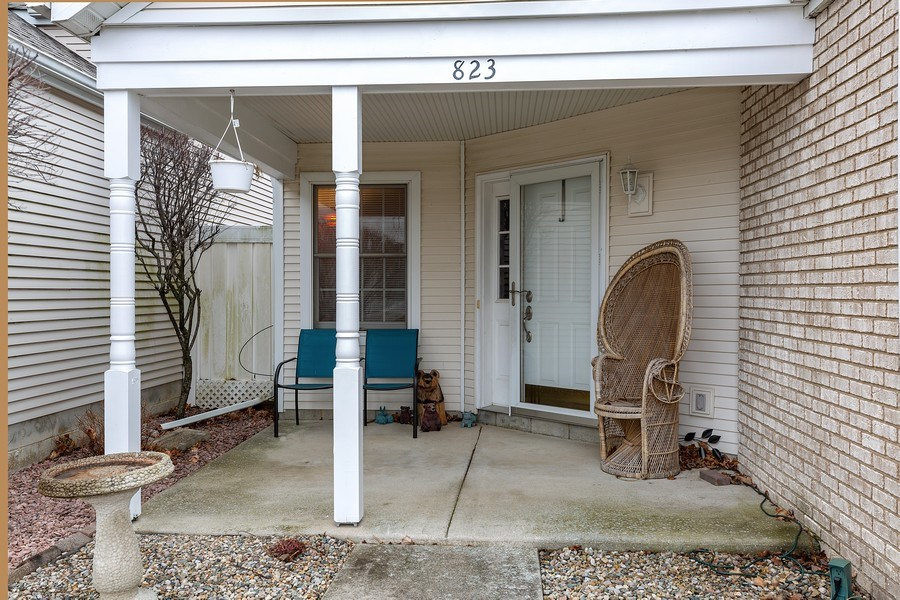 Real Estate Photography - 823 Meadowbrook Drive, Lowell, IN, 46356 - Front View