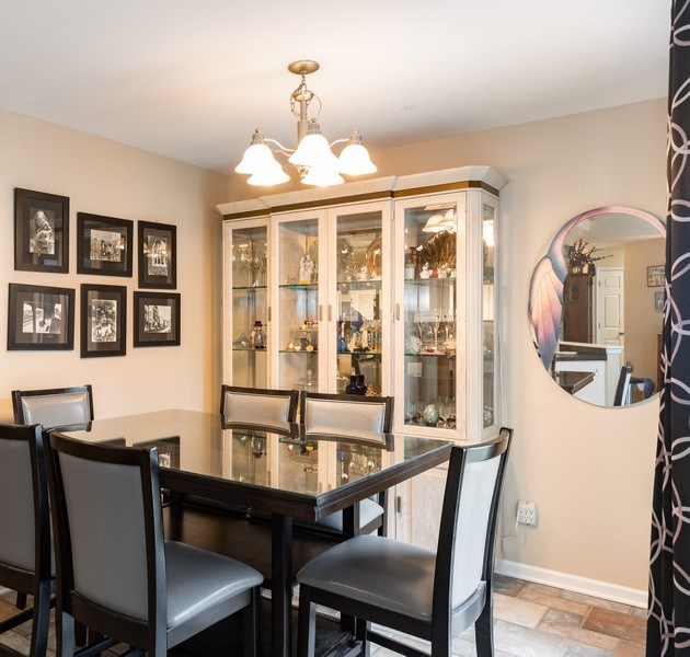 Real Estate Photography - 823 Meadowbrook Drive, Lowell, IN, 46356 - Dining Room