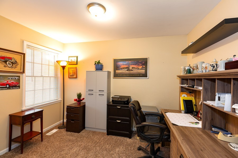 Real Estate Photography - 823 Meadowbrook Drive, Lowell, IN, 46356 - Office, Den or 3rd Bedroom