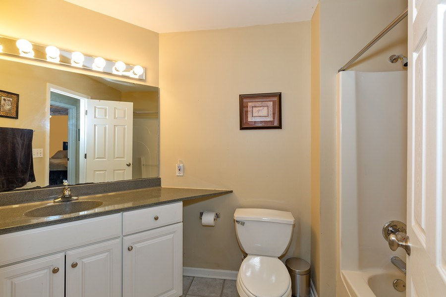 Real Estate Photography - 823 Meadowbrook Drive, Lowell, IN, 46356 - Bathroom