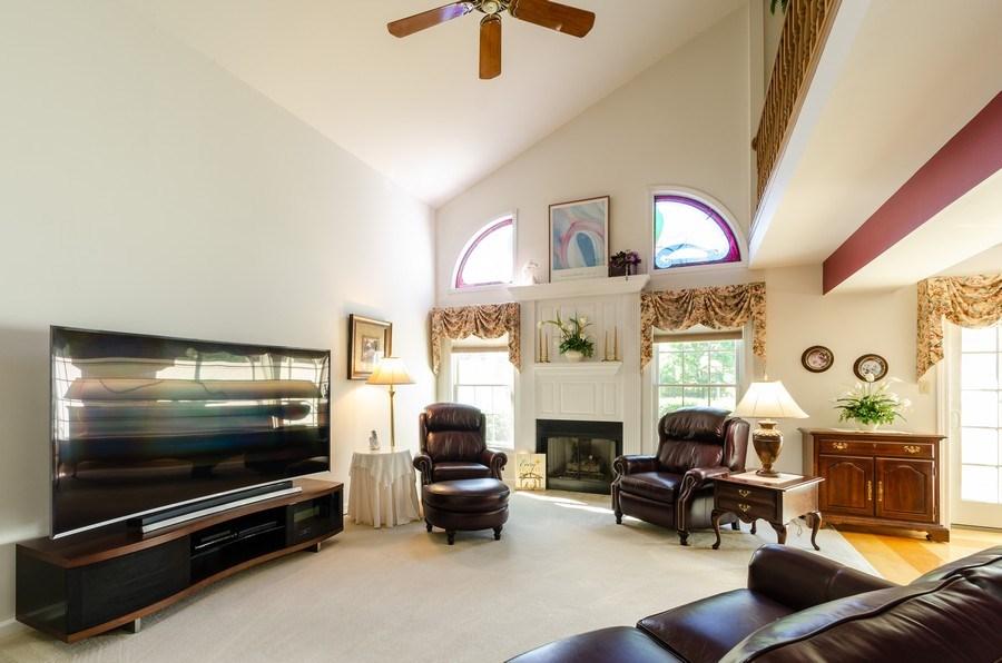 Real Estate Photography - 11355 Ventura Dr, St. John, IN, 46373 - Living Room