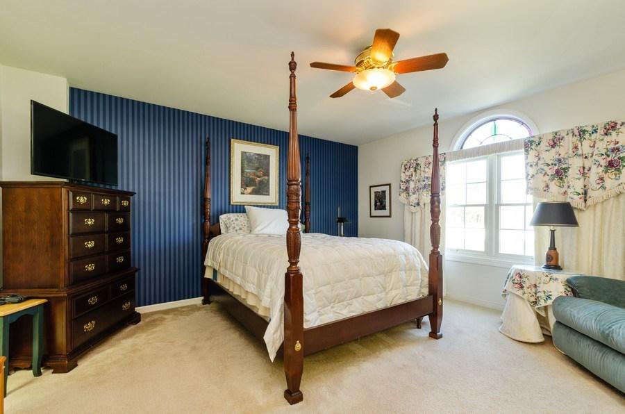 Real Estate Photography - 11355 Ventura Dr, St. John, IN, 46373 - Master Bedroom