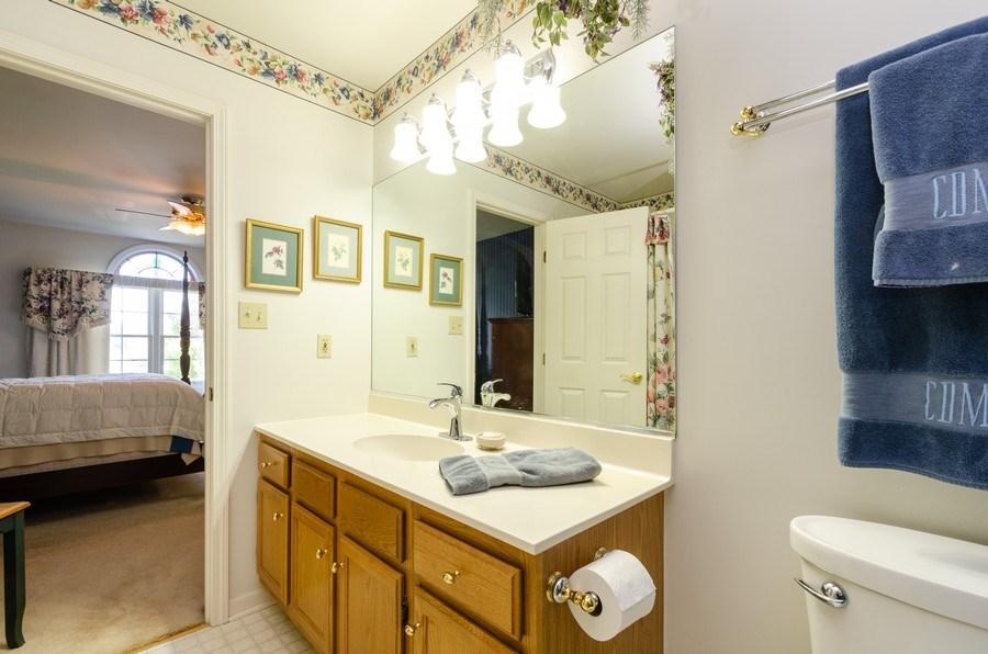 Real Estate Photography - 11355 Ventura Dr, St. John, IN, 46373 - Master Bathroom