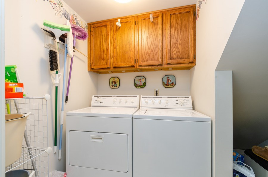 Real Estate Photography - 11355 Ventura Dr, St. John, IN, 46373 - Laundry Room