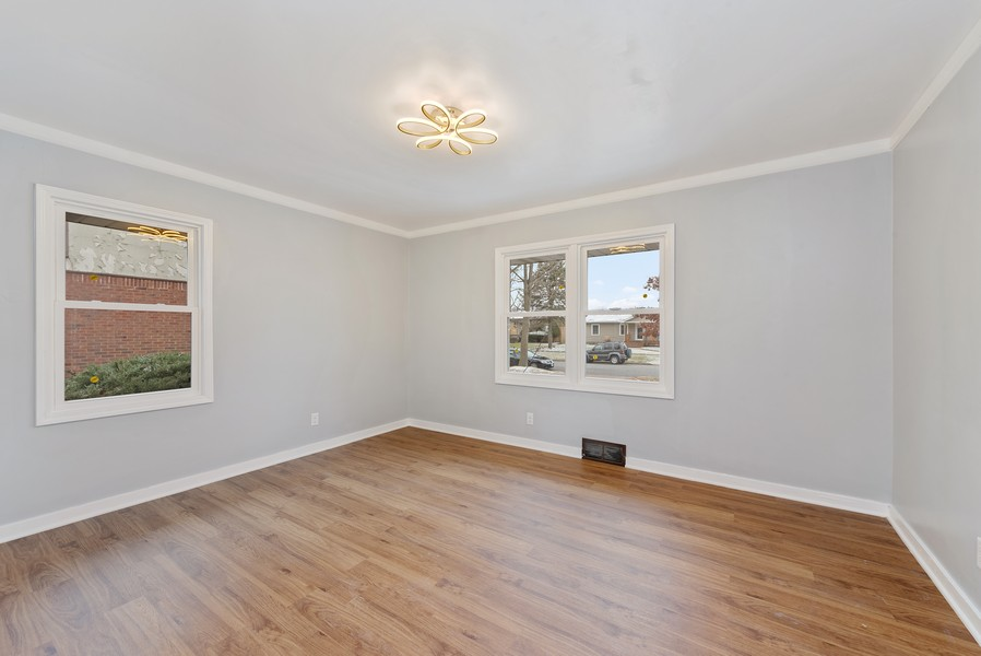 Real Estate Photography - 7439 Olcott ave, Hammond, IN, 46323 - 2nd Bedroom