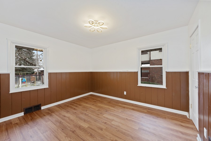 Real Estate Photography - 7439 Olcott ave, Hammond, IN, 46323 - 3rd Bedroom