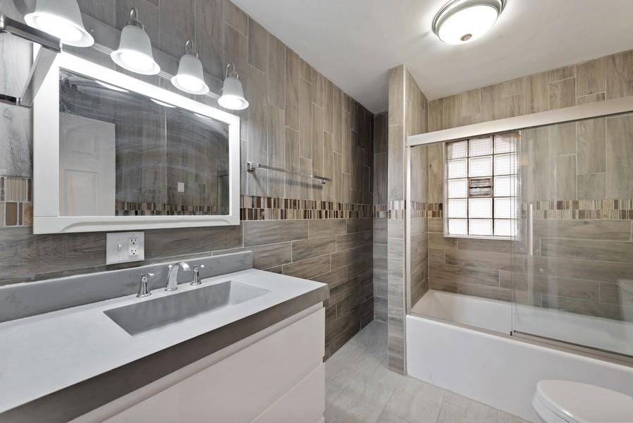Real Estate Photography - 7439 Olcott ave, Hammond, IN, 46323 - Bathroom