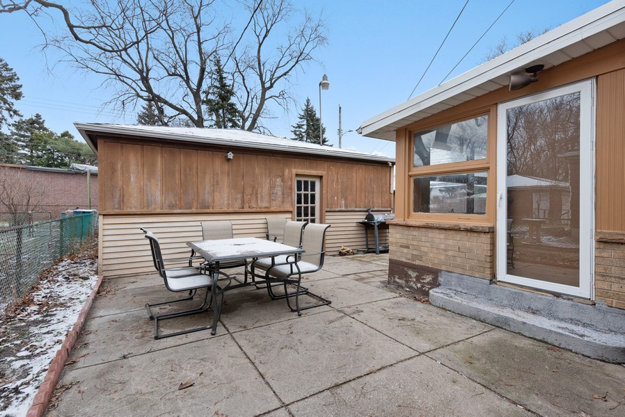 Real Estate Photography - 7439 Olcott ave, Hammond, IN, 46323 - Patio