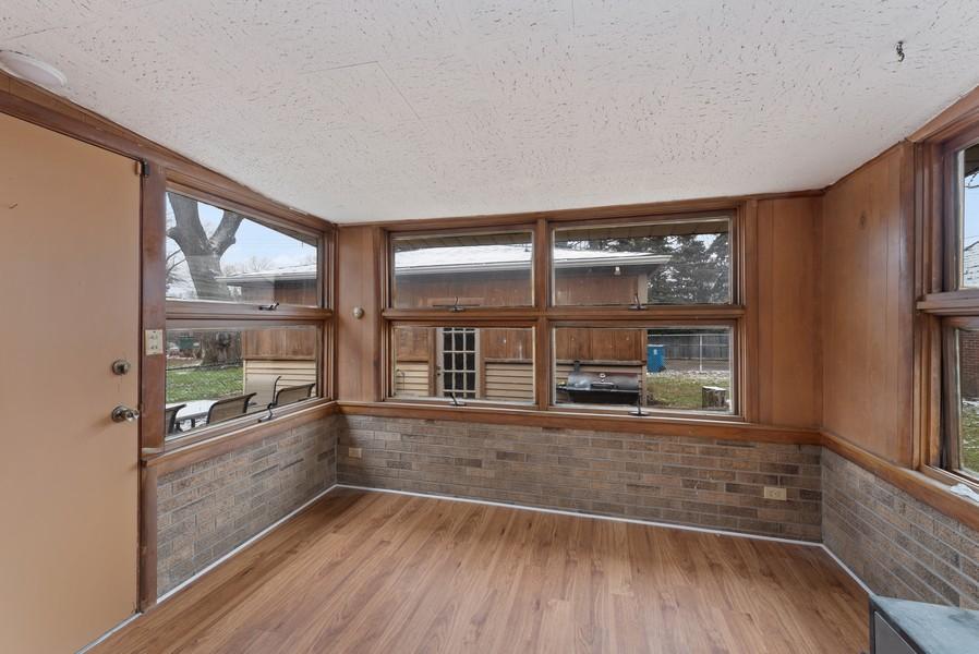 Real Estate Photography - 7439 Olcott ave, Hammond, IN, 46323 - Sun Room