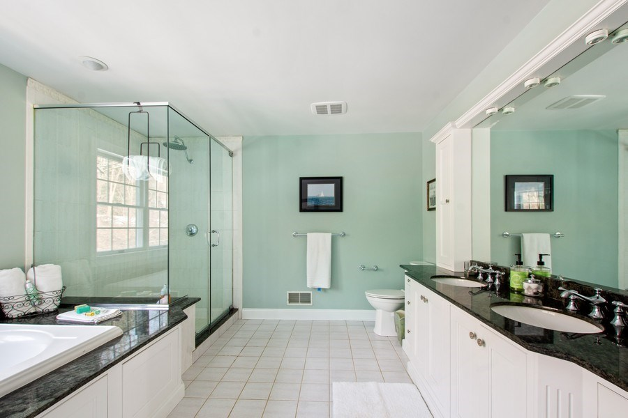 Real Estate Photography - 21 Admiral Wordens Lane, Briarcliff Manor, NY, 10510 - Master Bathroom
