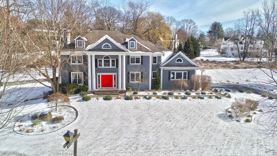 Real Estate Photography - 21 Admiral Wordens Lane, Briarcliff Manor, NY, 10510 - Aerial View