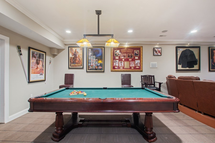 Real Estate Photography - 21 Admiral Wordens Lane, Briarcliff Manor, NY, 10510 - Theater/Pool Room
