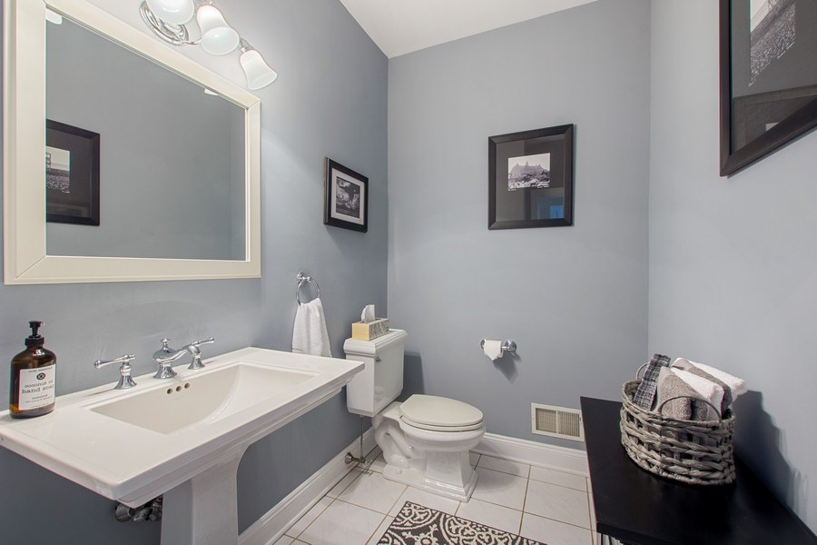 Real Estate Photography - 21 Admiral Wordens Lane, Briarcliff Manor, NY, 10510 - Powder Room