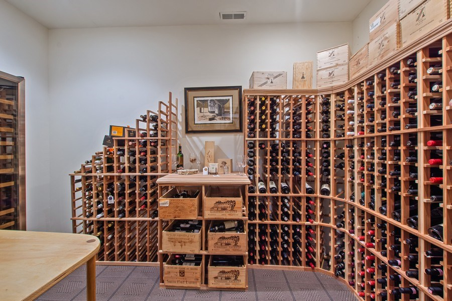 Real Estate Photography - 21 Admiral Wordens Lane, Briarcliff Manor, NY, 10510 - Wine Cellar